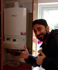 customer balham new boiler