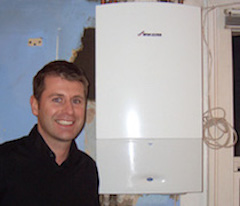 Mr P with Worcester Bosch new installation